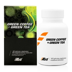 Green coffee + Green tea 400 mg / 60 cápsulas
